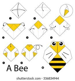 origami dove printable instructions | Origami bird easy, Origami ... | 280x260