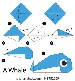 7 Cute and Easy Animal Origami for Kids | Printable Instructions ... | 280x260
