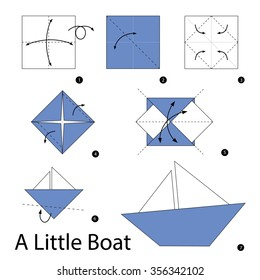 How to make a simple origami catamaran boat : page 1 | 280x260
