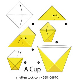 How to make an Origami Bin/Cup - YouTube | 280x260