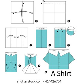 HOW TO FOLD AN ORIGAMI SHIRT. — Gathering Beauty   280x260