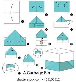Incredible Origami Box Images Stock Photos Vectors Shutterstock Wiring Digital Resources Honesemecshebarightsorg