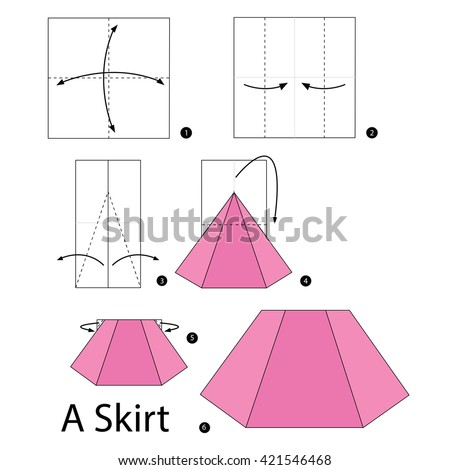 Step by step instructions how make stock vector (royalty free.
