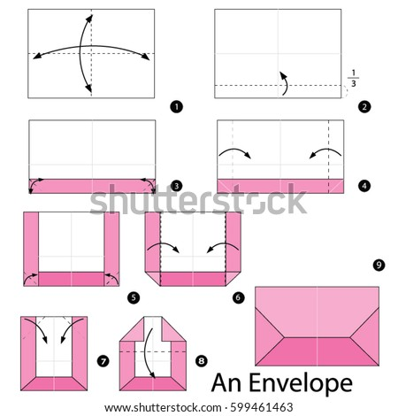 step by step instructions how make stock vector royalty free 599461463 shutterstock. Black Bedroom Furniture Sets. Home Design Ideas