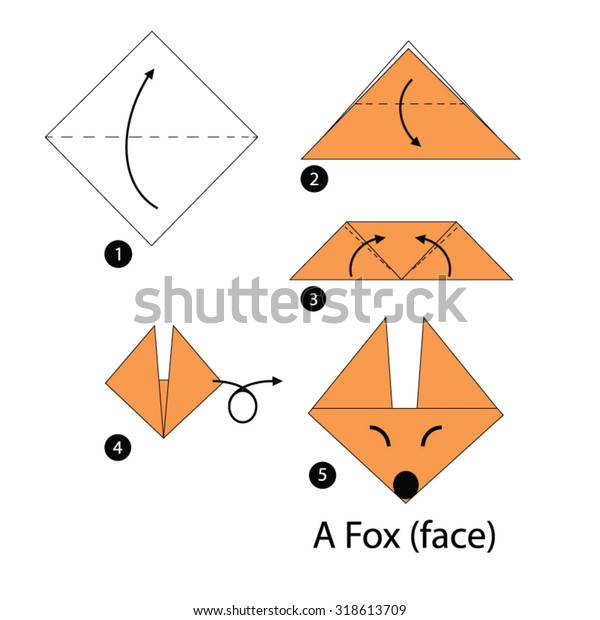 Origami Fox: 3 Simple and Best Versions for Kids | 620x600