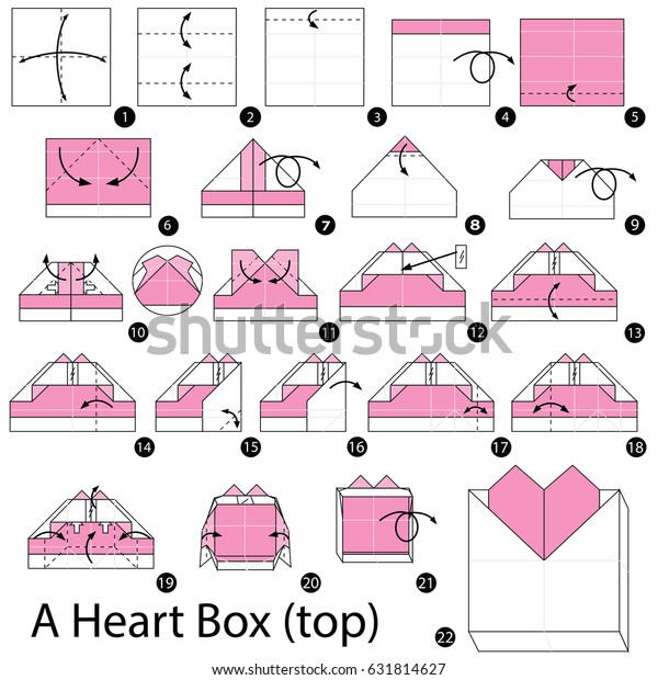 How to Fold Double Origami Heart diy how to tutorial | Paper ... | 620x600