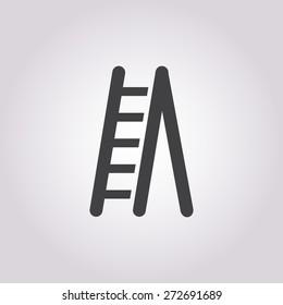 Step ladder icon.