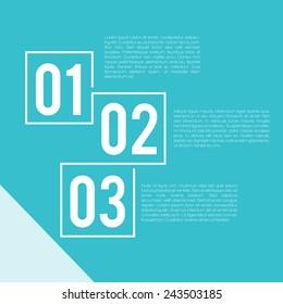 Steps Presentation Template   EPS10 Vector