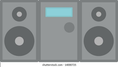 stereo audio player