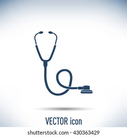 stethoscope vector icon