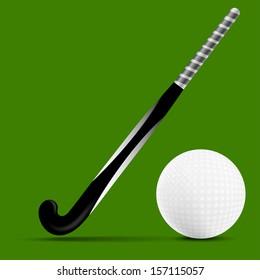 Stick and ball field hockey