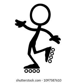 Stick figure limbo Skate 1