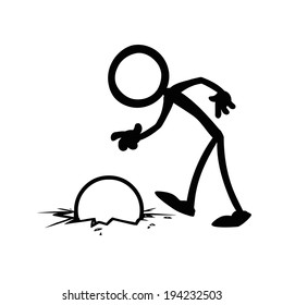 Stick Figures business drop the ball