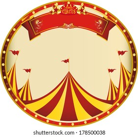 a sticker on circus theme for you