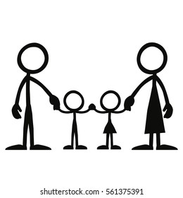 Stick Figure Family Images, Stock Photos & Vectors ...