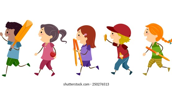 Kids Playing Cricket Images, Stock Photos & Vectors ...