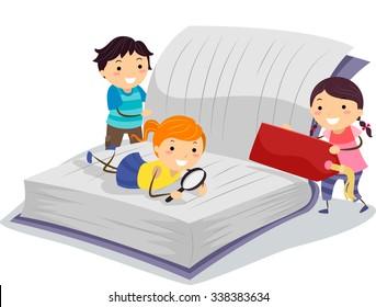 Resultado de imagen de NIÑOS investigando