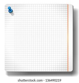 Sticky note paper