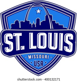 St.louis .Vector and illustration.