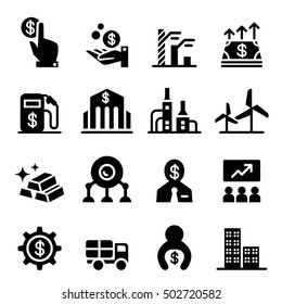 Stock exchange & Stock Market icons