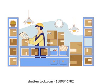 Stock and Storekeepers. Completion and warehousing. Inventory work. Work in warehouse. Reception, inventory accounting, accounting and organization of delivery.