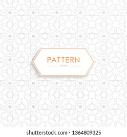 Stock vector arabic pattern template beautiful festival background with islamic ornament