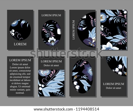 Stock Vector Art Brochure Template Layout Stock Vector Royalty Free