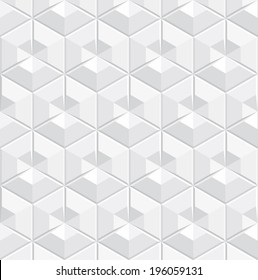 stock vector white geometric transparent seamless pattern texture background