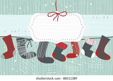 stocking card