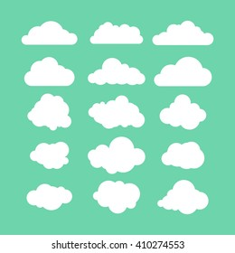 stock-vector-illustration-set-of-flat-clouds-icon