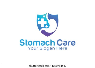 Stomach Care logo design template