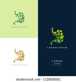 Stomach logo designs concept, Healthy Stomach logo template, Nature Stomach logo