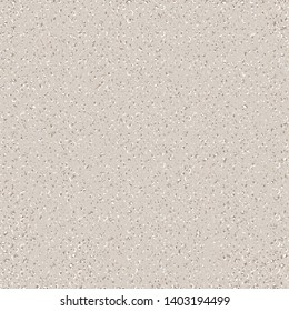 Stone surface. Wall. Dry soil texture. Beige flecked background. Vector illustration.