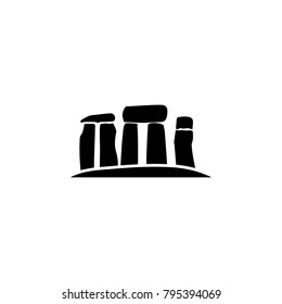 Stonehenge stones icon. Element of United Kingdom culture icons. Premium quality graphic design icon. Signs, outline symbols collection icon for websites, web design, mobile app on white background