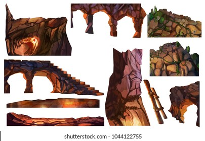stones of caves