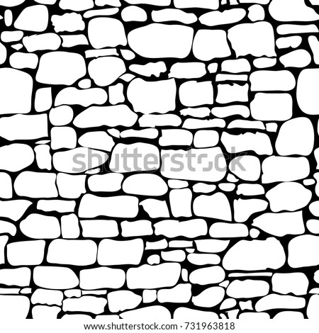 stones seamless pattern vector rock stone stock vector royalty free