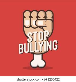 Anti bullying background