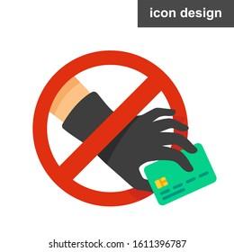 Stop fishing steal hacker sticker