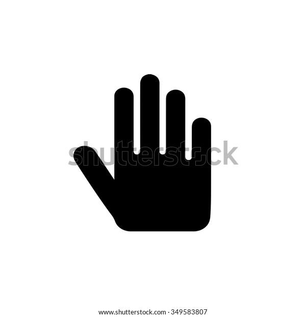 23+ Stop Sign Icon Hand Pics