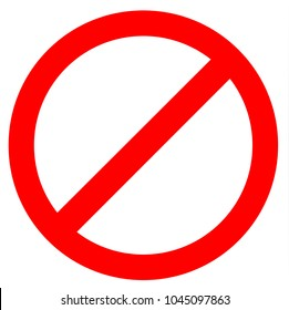 stop sign icon on white background