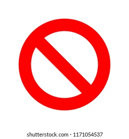 Stop sign, stop icon - vector stop illustration. red warning symbol