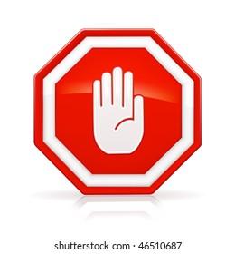 Stop Sign, mesh