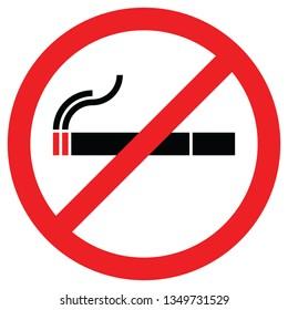 stop smoking logo no smoking sign vektor