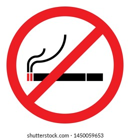 stop smoking no smoking forbidden sign symbol logo cigarettes