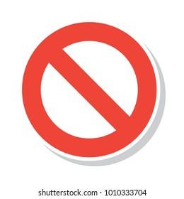 Stop Unauthorized Caution