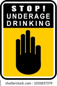 amp; Images Drinking Illustrations Stock Vectors Underage Shutterstock