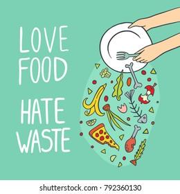 Food+waste Images, Stock Photos & Vectors | Shutterstock