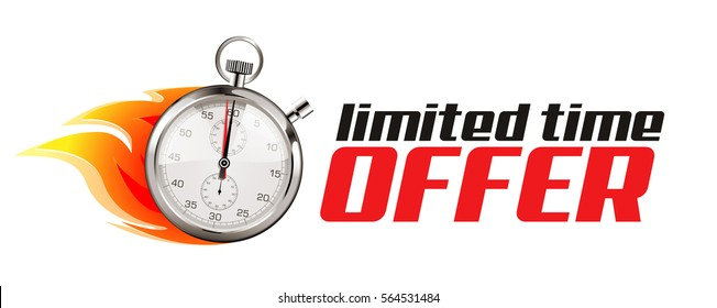 Stopwatch - Hurry up - limited time offer