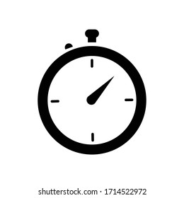 stopwatch icon illustration vector sign