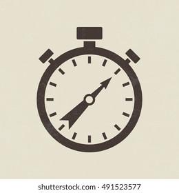 Stopwatch icon - Vector